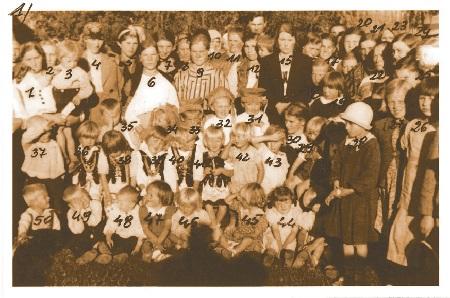 Ochronka wSzewcach rok 1926.