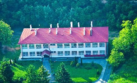 Budynek szkoły wZłotej. Stan na rok 2014